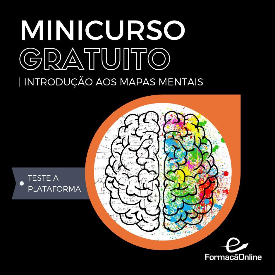 minicurso gratuito - mapas mentais