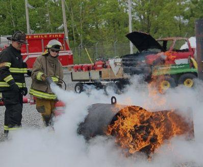 formação em Combate a Incêndios e Evacuação